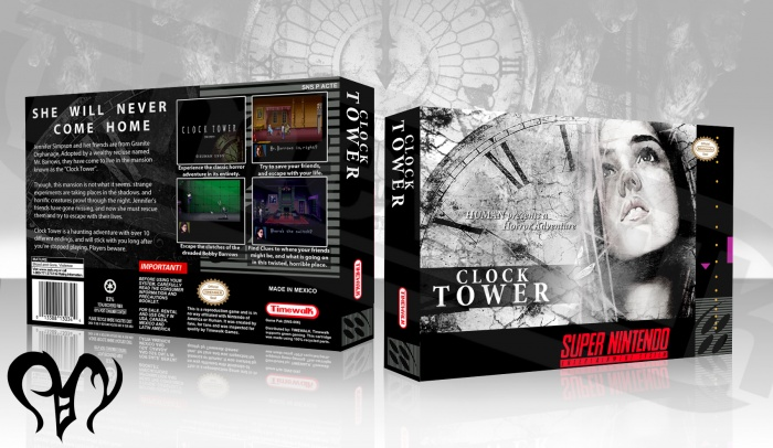 Clock Tower box art cover