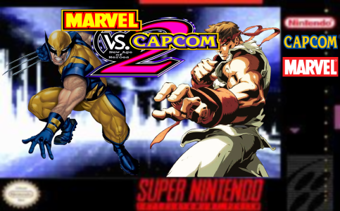 Marvel vs Capcom 2: New Age of Heroes box cover