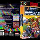 Super Mario Kart Box Art Cover