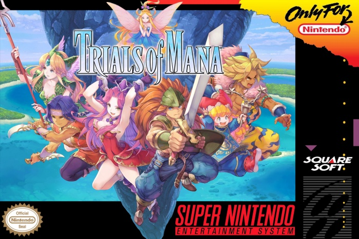 Trials of Mana box art cover