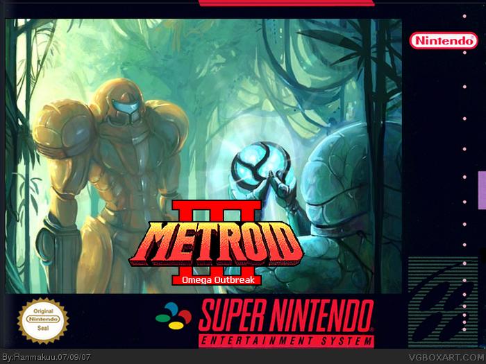 SNES » Metroid III: Omega Outbreak Box Cover