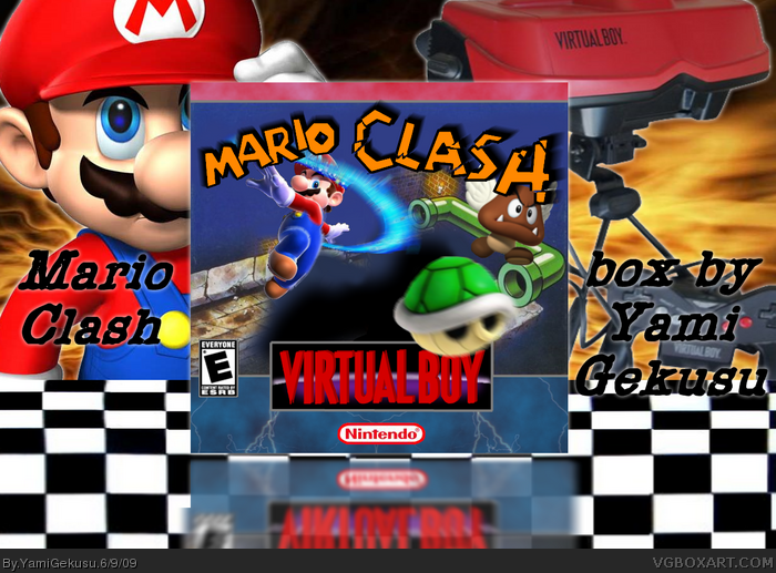 Mario Clash box art cover
