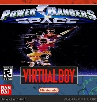 Power Rangers in Space box cover