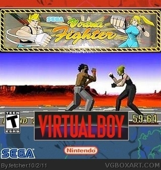 Virtua Fighter box cover