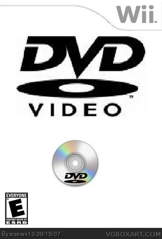 Wii DVD box cover