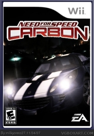 Need for Speed: Carbon box cover
