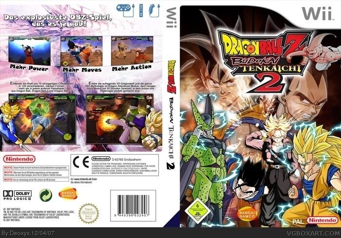 Dragon Ball Z: Budokai Tenkaichi 2 Box Cover Comments