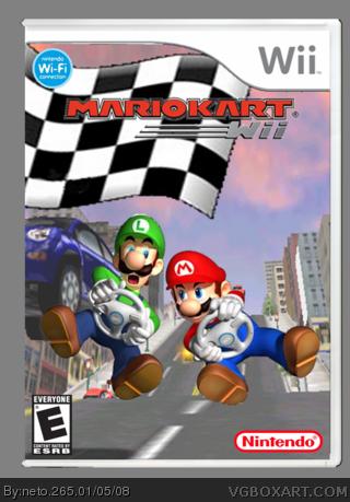 Mario Kart Wii Wii Box Art Cover By Neto 265