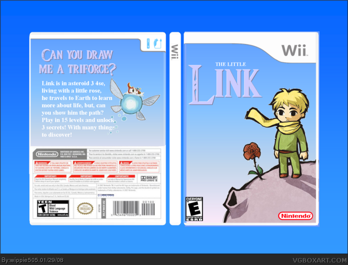 The Little Link. box art cover