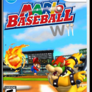 Mario Baseball Wii Box Art Cover