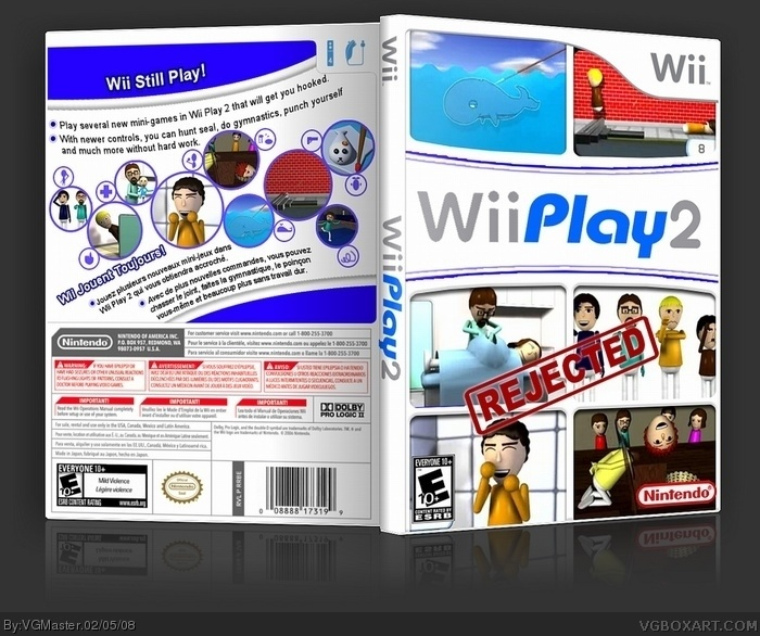 Wii Play 2 box art cover