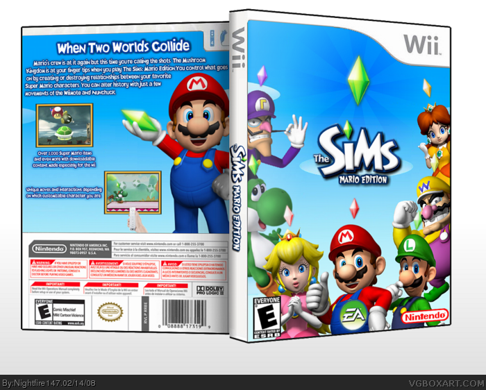 sims 3 wii