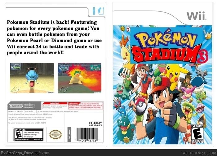 Pokemon Stadium 3