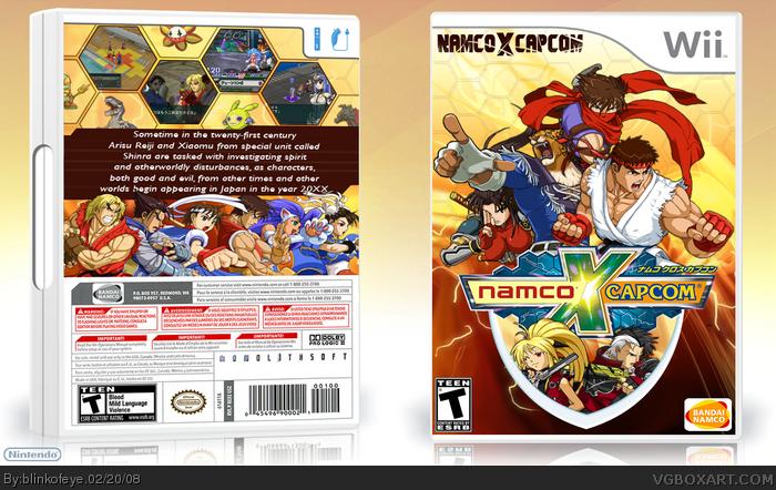 Namco X Capcom Box Cover Comments