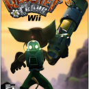 Ratchet and Clank Wii Box Art Cover