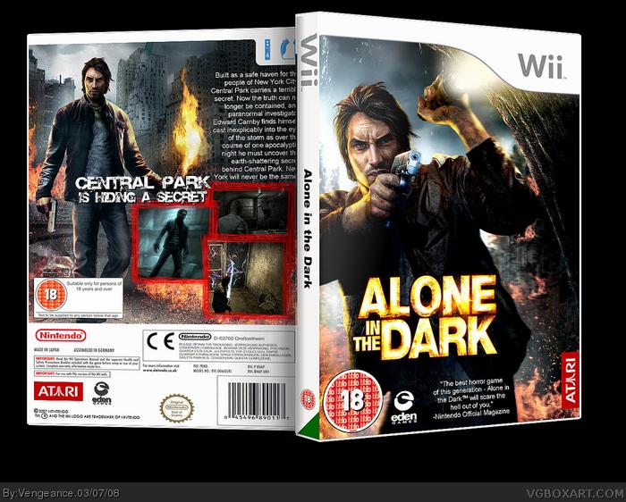 Wii » Alone in the Dark Box Cover