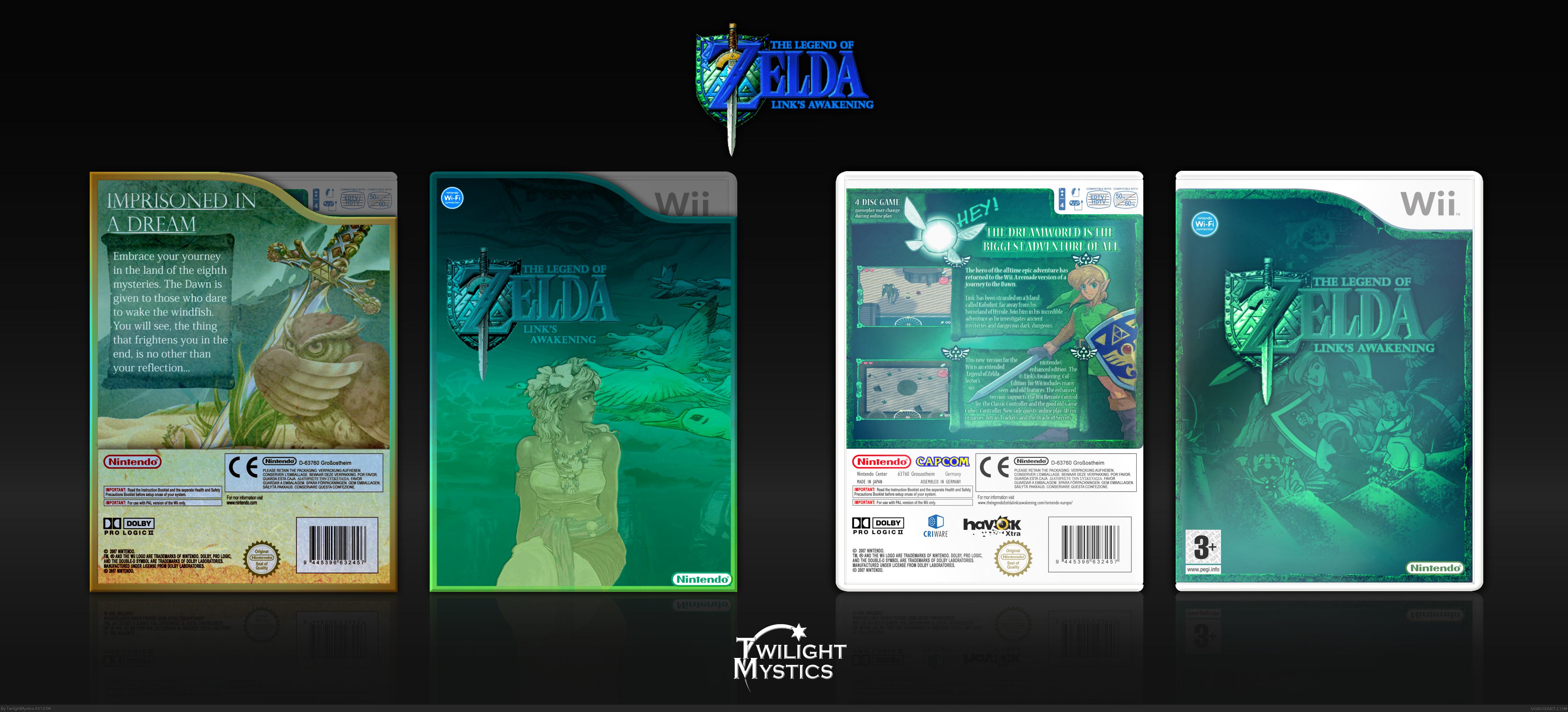 Viewing Full Size The Legend Of Zelda Link S Awakening Ce