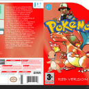 Pokemon Red: Wii Edition Box Art Cover