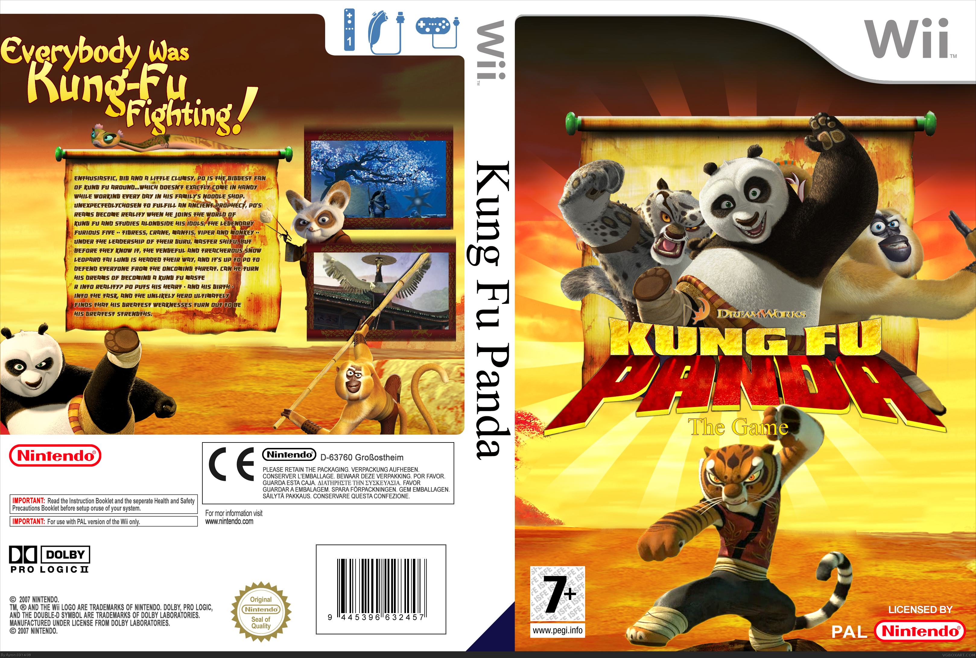 Kung fu panda piss means
