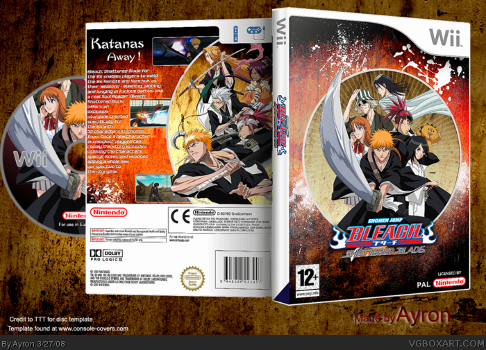 Bleach: Shattered Blade box art cover