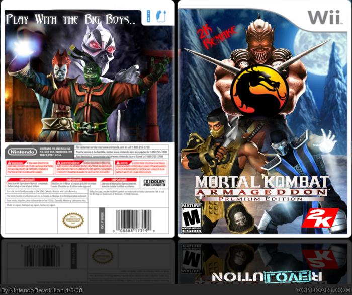 Wii » Mortal Kombat Armageddon: Premium Edition Box Cover