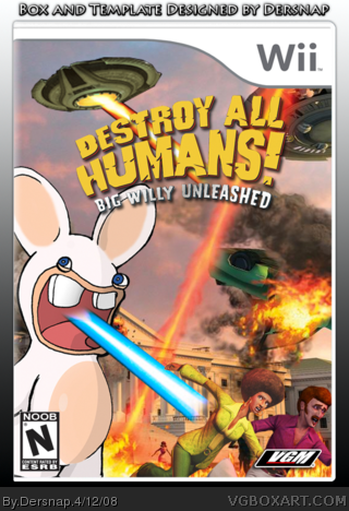 Destroy All Humans! Big Willy Unleashed box cover