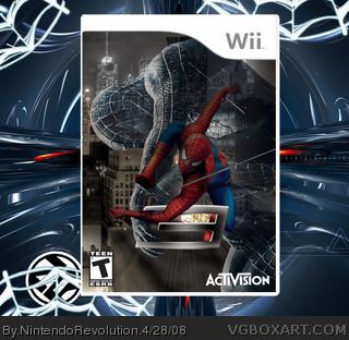 Spider Man 3 Wii Box Art Cover By Nintendorevolution