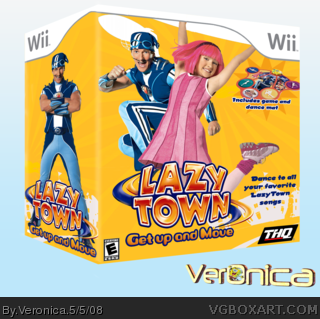 LazyTown Games - Get Up And Move - YouTube