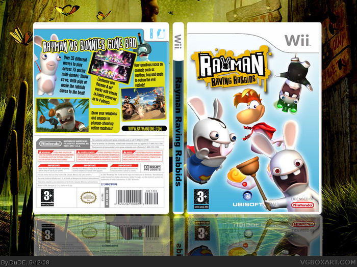Raving Rabbids 2 Wii