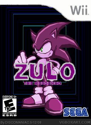 Zulo the Hedgehog box cover