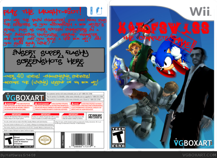 HalfSwiss: The Complete Game box art cover