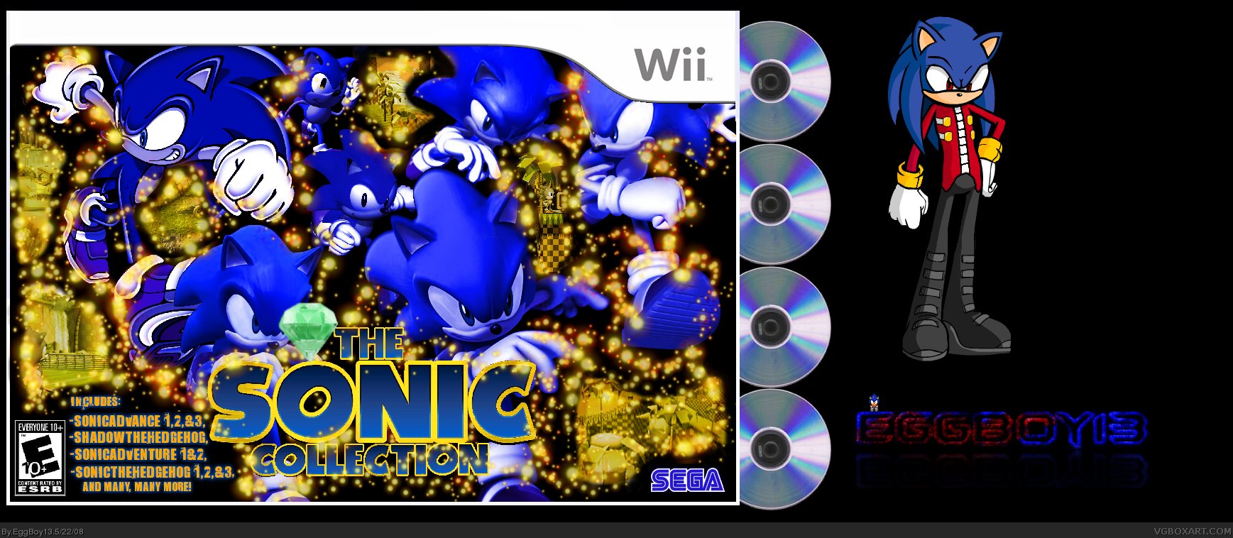 The Sonic Collection box cover