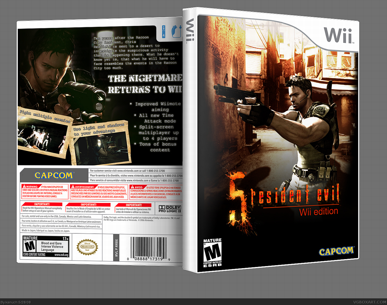 resident evil 4 wii edition download ita