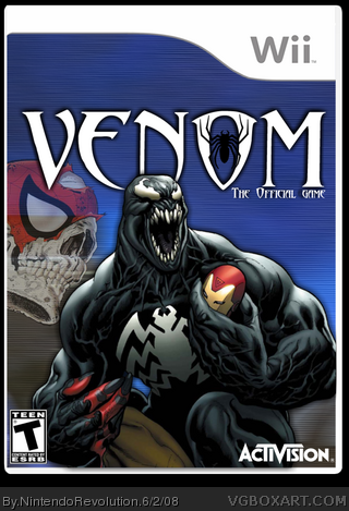 Venom: The Official Game box cover