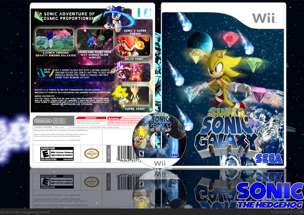 super sonic games