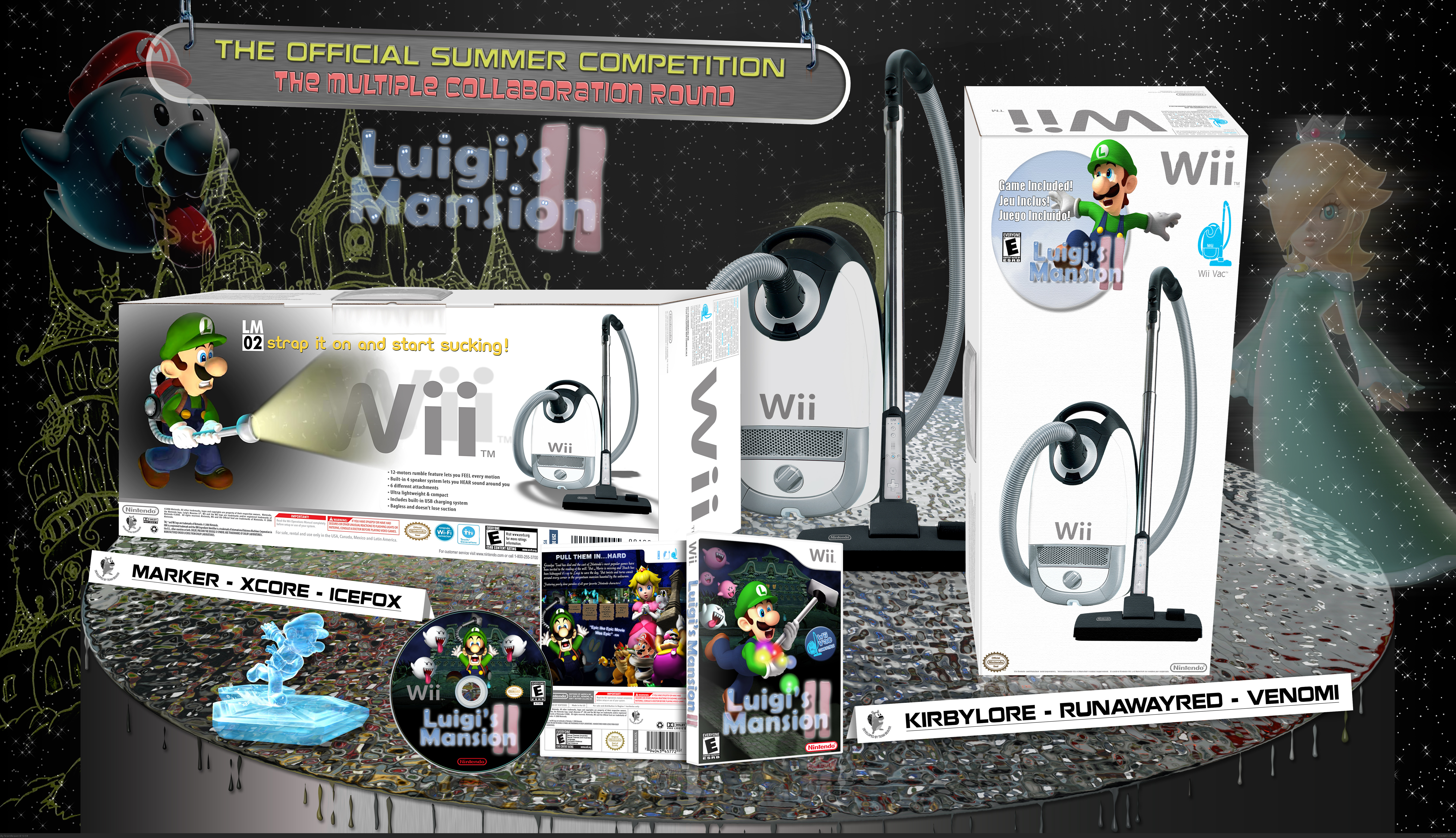 Luigi's Mansion II (Bundle Box) box cover