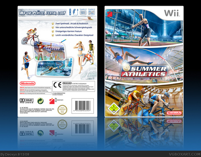 Summer Athletics box art cover