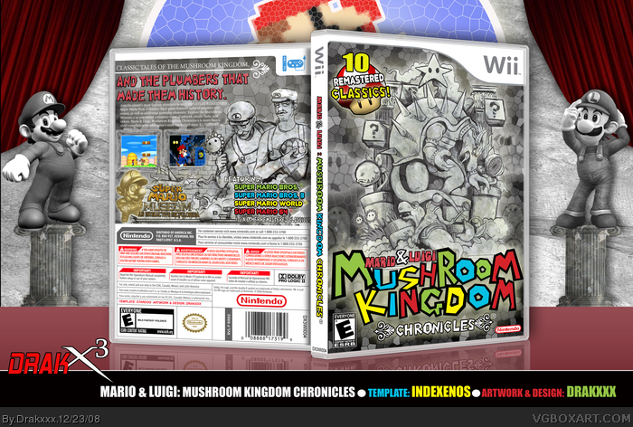 Mario & Luigi: Mushroom Kingdom Chronicles box art cover