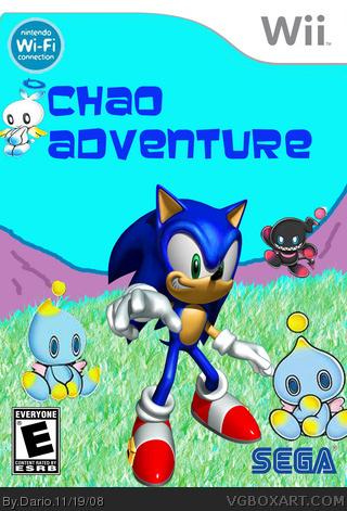 Wii » Chao Adventure Box Cover humor