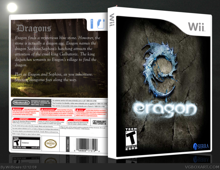 Eragon box art cover