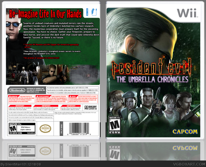 Biohaze.com - Resident Evil The Umbrella Chronicles