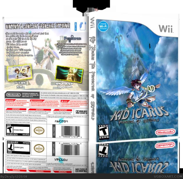 Kid Icarus: Protector of Skyworld box art cover