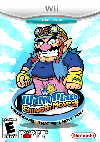 WarioWare: Smooth Moves box cover