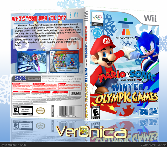 Wii » Mario and Sonic at the Winter Olympic Games Box Cover ← →
