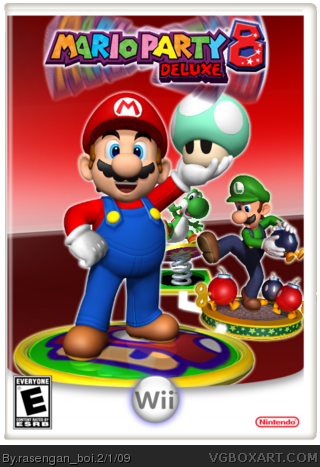 Mario Party 8: Deluxe box cover