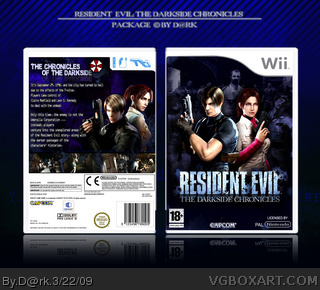 Wii » Resident Evil: The Darkside Chronicles Box Cover