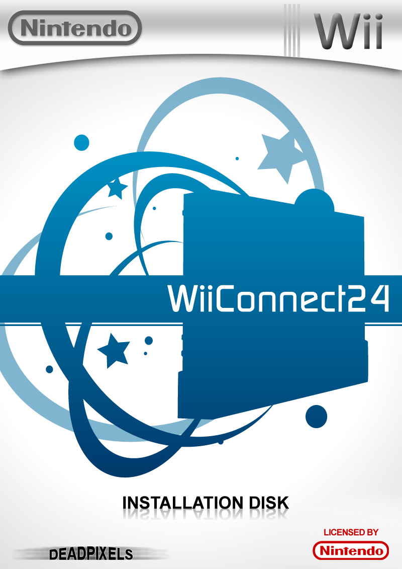 Wii Connect 24 box cover