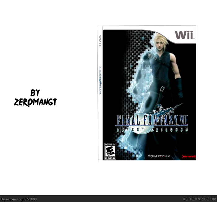 Final Fantasy VII advent children Box Cover Comments