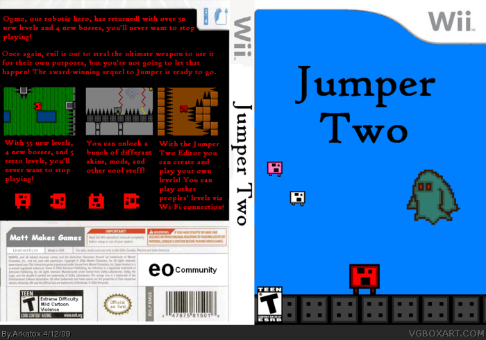 Jumper Two box art cover
