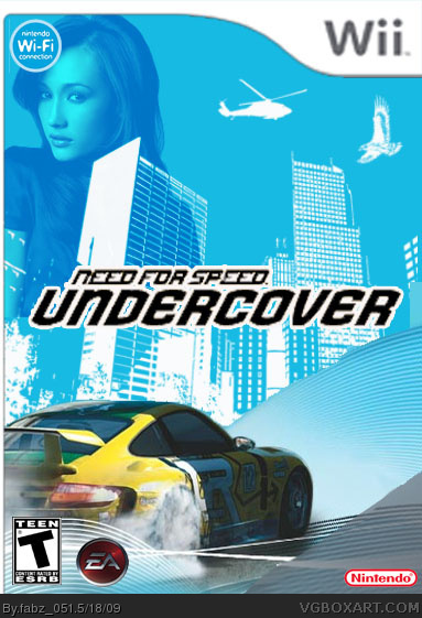 need for speed undercover wii box art cover by fabz 051. Black Bedroom Furniture Sets. Home Design Ideas